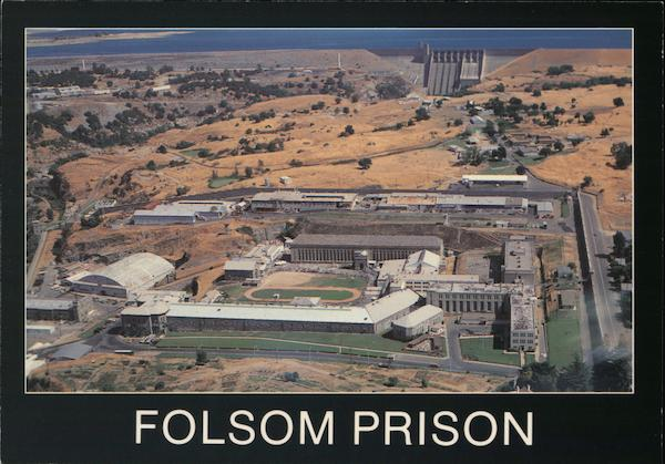 Folsom Prison and Folsom Dam Represa California Kyle S. Smith