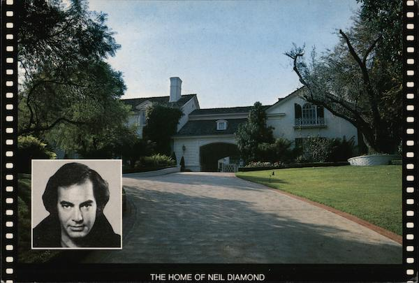 The Home of Neil Diamond Beverly Hills California Photographic Compositions