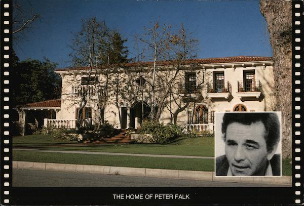 The Home of Peter Falk Beverly Hills California Photographic Compositions