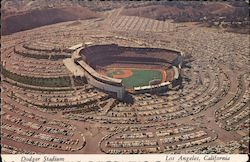 Dodger Stadium Postcard