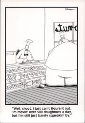 Doughnut Shop Owner Fails to See the Elephant in the Room - The Far Side