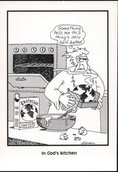 The Far Side: In God's Kitchen