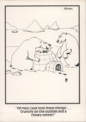 The Far Side: Oh Hey! I Just Love These Things!