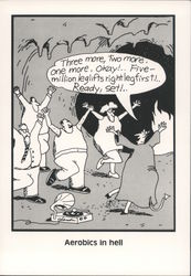 Aerobics in Hell - The Far Side