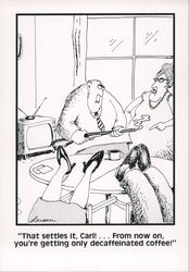 Far Side couple