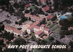 Navy Post Graduate School Postcard