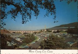 Marin County Civic Center Postcard
