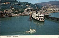 Ferry at Sausalito, California