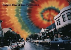 Haight Street San Francisco Postcard