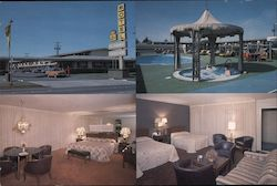 The Flagwaver Best Western Motor Hotel Postcard