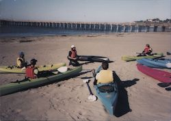Cayucos Outfitters, Ocean Kayak Tours Postcard