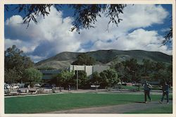 Mathematics and Home Economics Building, California Polytechnic State University Postcard