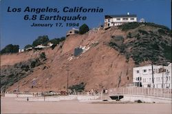 Los Angeles 6.8 Earthquake 1/17/94 Postcard