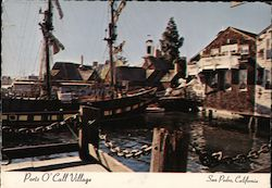 Ports O' Call Village Postcard
