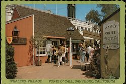 Whaler's Village, Ports O' Call Postcard