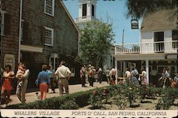 Whalers Village Ports O'Call Postcard