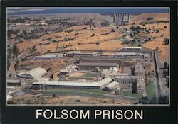 Folsom Prison and Folsom Dam Postcard