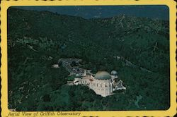 Aerial View of Griffith Observatory Postcard