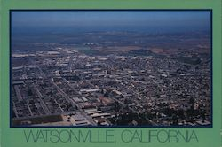 Watsonville, Pajaro Valley, Santa Cruz County, Famous for Apples and Strawberries Postcard