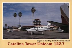 Airport in the Sky - Catalina Tower Unicom 122.7
