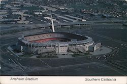 Anaheim Stadium -- Home of the California Angels Postcard
