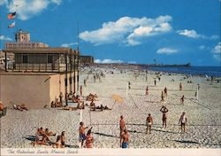 Santa Monica Beach Postcard