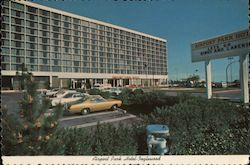 Airport Park Hotel Inglewood Postcard