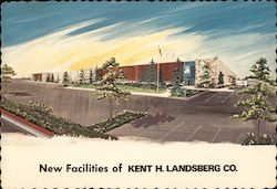 New Facilites of Kent H. Landsberg Co. Postcard