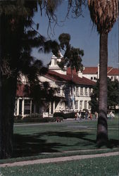 Whittier College Postcard