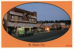 Mt. Shasta City Postcard
