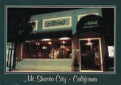Michael's Restaurant Postcard