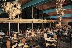 Dining Room, Lawrence Welk Country Club Village Postcard
