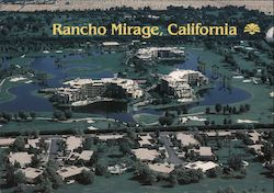 View of Rancho Mirage Postcard
