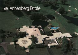 Annenberg Estate Postcard