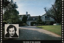 The Home of Neil Diamond Postcard