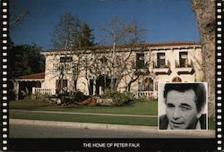 The Home of Peter Falk Postcard