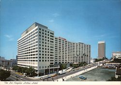The Los Angeles Hilton Hotel Postcard