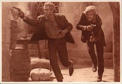 Paul Newman and Robert Redford - Butch Cassidy and the Sundance Kid Postcard