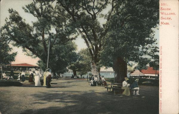 Salem Willows Massachusetts