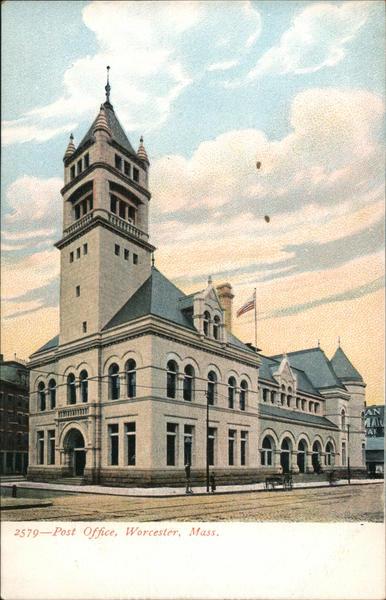 Post Office Worcester Massachusetts