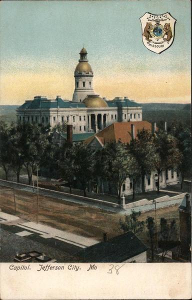 Capitol Jefferson City Missouri