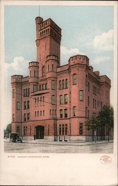 Armory Worcester Massachusetts