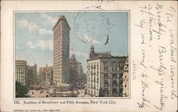 Flatiron Building, Junction of Broadway and Fifth Avenue