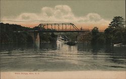 Weirs Bridge Postcard