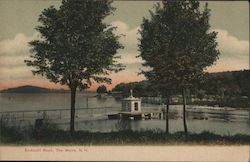 Endicott Rock Postcard