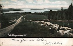 Lake Winnipesaukee Postcard