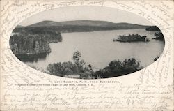 View from Burkehaven Postcard