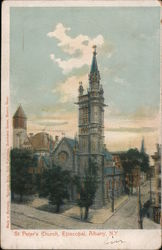 St. Peter's Church, Episcopal Postcard