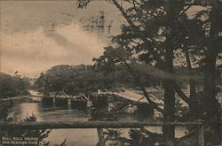 Bull Rock Bridge New Meadows River Postcard