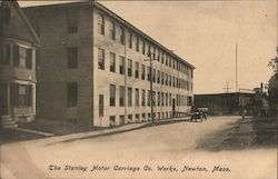 The Stanley Motor Carriage Co. Works Postcard